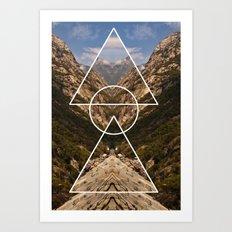 Hidden meaning Art Print