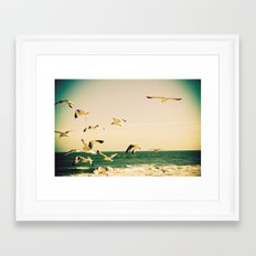 Gulls Series 1 Framed Art Print