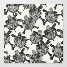 turtle party  Canvas Print