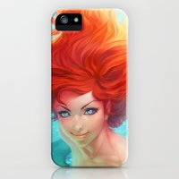 iPhone Cases featuring Under The Sea by Artgerm™