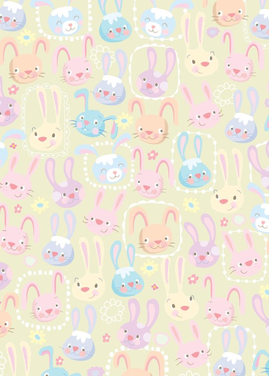 too many bunnies Art Print