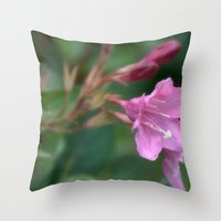 Let me touch You, You´ll Love it Throw Pillow
