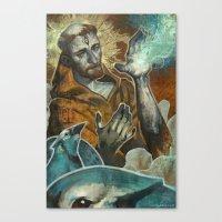 Saint Francis Revisited Canvas Print