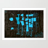 Art Print featuring Share the knowledge to preserve it. by David Nuh Omar