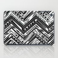 BW ETHNIC CHEVRON iPad Case