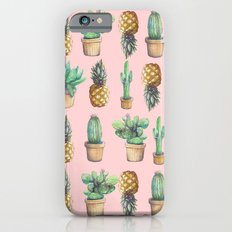 cactus and pineapples Slim Case iPhone 6s