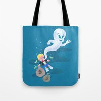 Where Do Friendly Ghosts… Tote Bag