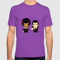Pulp Fiction Mens Fitted Tee Ultraviolet SMALL