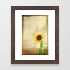 Bottled Sun Framed Art Print
