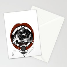 Poetry Slam  Stationery Cards