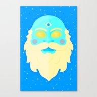 Santa Cosmos Canvas Print