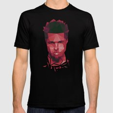 Fight club - tyler Black SMALL Mens Fitted Tee