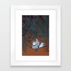 Into the Mild Framed Art Print