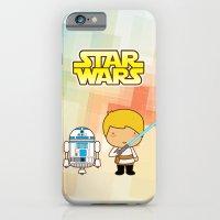 Luke Skywalker and R2D2 iPhone 6 Slim Case