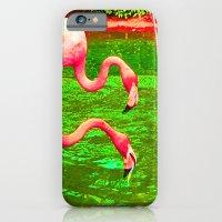 Flaming Flamingo iPhone 6 Slim Case