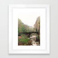 QUIET SPRING Framed Art Print