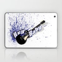 Hey Baby Guitar Laptop & iPad Skin