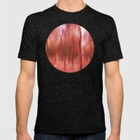 initiation (back to unnatural) Mens Fitted Tee Tri-Black SMALL