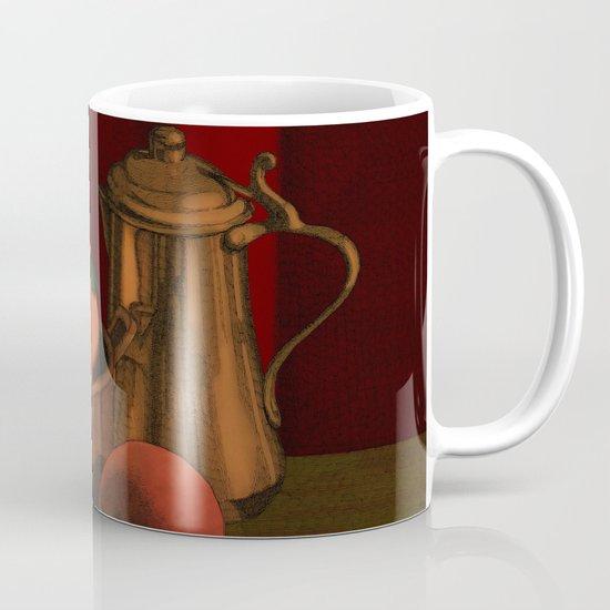 Still life with peaches Mug