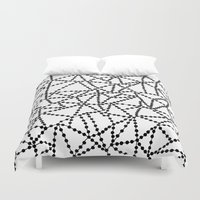 Dots Connect Duvet Cover