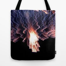 Cloud of fire Tote Bag