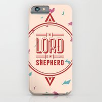 iPhone & iPod Case featuring Psalm 23:1 by Joseph Rey Velasquez