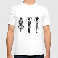 Warriors Mens Fitted Tee White SMALL