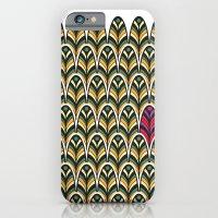 Rubine Feather iPhone 6 Slim Case