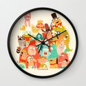 Storybook Gang Wall Clock