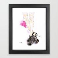 Jimmy Choo Framed Art Print