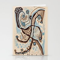 Crowded Land  Stationery Cards
