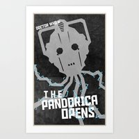 The Pandorica Opens (12 in a series of 13) Art Print