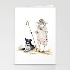 Sheepherd Sheep Stationery Cards