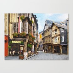 Medieval shelter Canvas Print