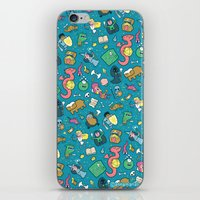 Dungeons & Patterns iPhone & iPod Skin