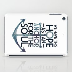 WE HAVE THIS HOPE. iPad Case