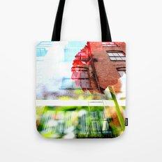 Six Story Dahlia Tote Bag