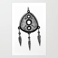 Amulet Art Print