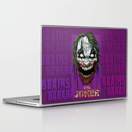Joker Zombie Laptop & iPad Skin