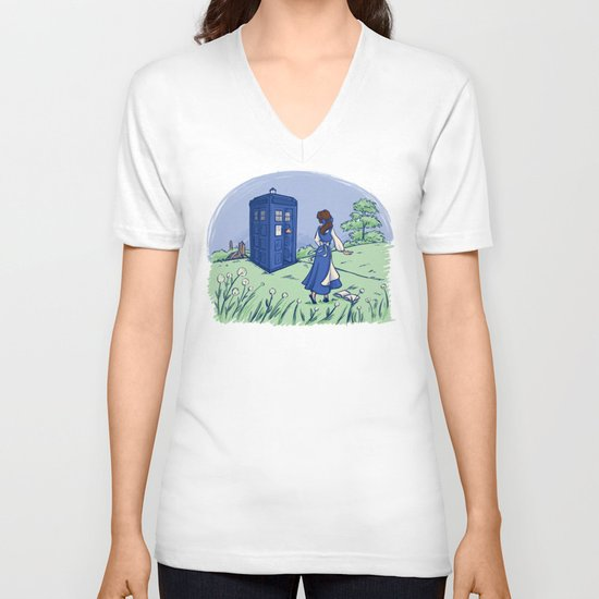 Adventure in the Great Wide Somewhere V-neck T-shirt