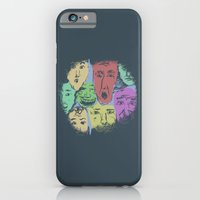 iPhone & iPod Case featuring The Different Moods by heryart