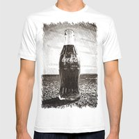 Glass Nostalgia Mens Fitted Tee White SMALL