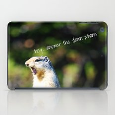 Angry Squirrel iPad Case