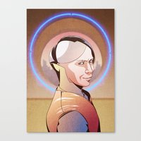 Chaos (Zorg - The Fifth Element) Canvas Print