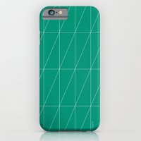 Emerald Triangles by Friztin iPhone 6 Slim Case