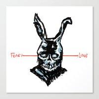 Donnie Darko: FEAR • F… Canvas Print