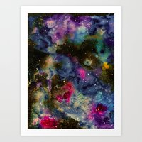 Intergalactic Planetary Art Print