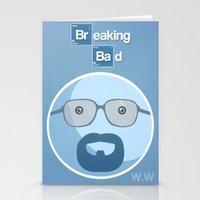 Breaking Bad Blue Sky Ve… Stationery Cards