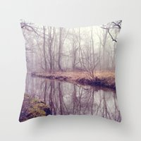 when time stood still Throw Pillow