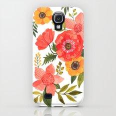 FLOWER POWER Slim Case Galaxy S4